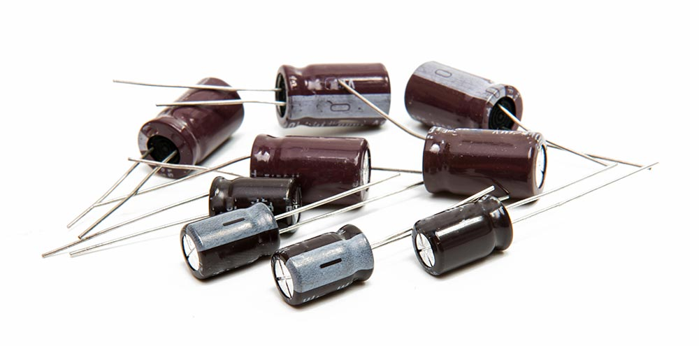 Graphic Capacitors Lot